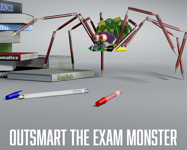 Exam Monster - Mental Health
