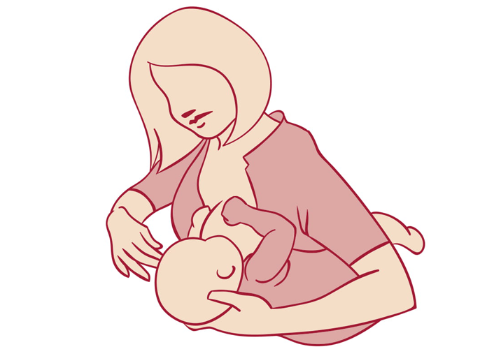 Breastfeeding Positioning And Attachment Hse Ie